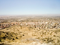 Albuquerque, New Mexico in all its Spring time glo